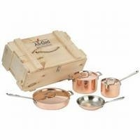 China copper cookware on sale