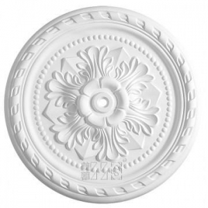 China Gypsum Cornice Gypsum/Plaster Ceiling Rose Center Panel on sale