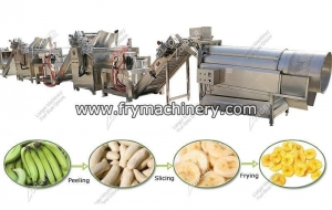 China Automatic Banana Plantain Chips Production Line Plant on sale