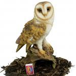 resin owls statues Item ID: # 8476