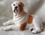resin bulldogs statues Item ID: # 8486