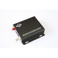 1 Channel Fiber Optic Video Convertor RS485 Splitter