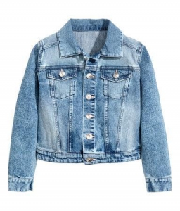 China girl-Jacket wholesale and OEM Denim jacket for kids girls on sale