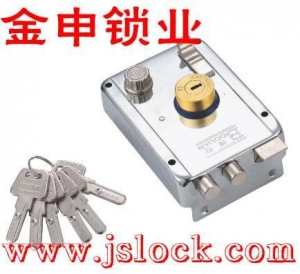 China Door lock series Computer key exterior door locks with heads of copper on sale