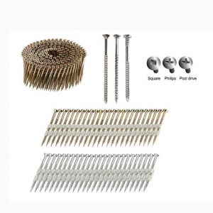 China 21  / 34Scrail Strip Nails And 15Coil Scrail Nails on sale