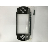 PSP1000 parts psp1000 fat faceplate made in china black screen protector