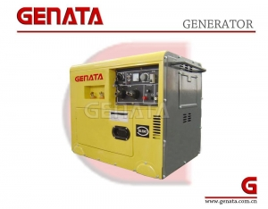 China Silent Diesel Welding Generator GRDE6500TW on sale