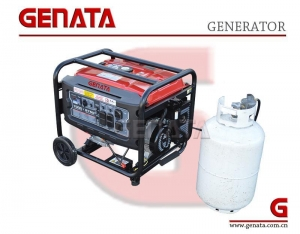 China Triple-Fuel Generator with 8750watts OHV Engine on sale