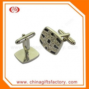 China Factory cheap price male cufflink for party gift souvenir on sale