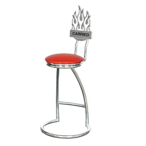 China Goal Series Swivel Bar Stool With Backrest on sale