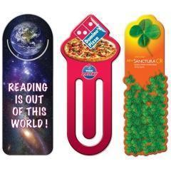 China Custom High Gloss Laminated Bookmarks on sale