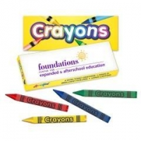 Liquimark Pack of Four Quality Crayons