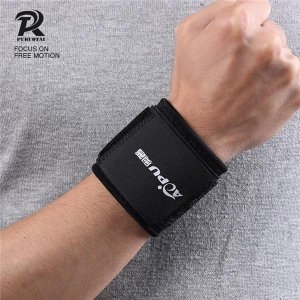 China Weight Lifting Bar Straps Gym Bodybuilding Wrist Support Wraps Bandage on sale