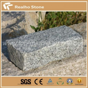 China Small Natural Crystal Grey G603 Granite Brick Paver Stone on sale