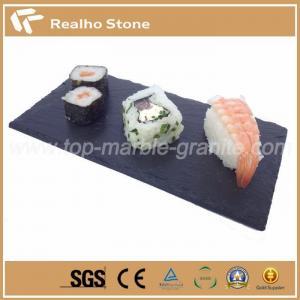 China Rectangular Shaped Slate Dinner Coasters on sale