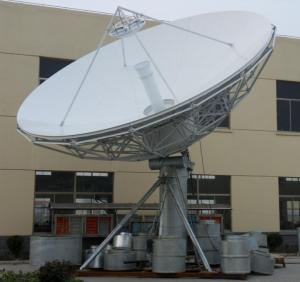 China Satellite Earth Station Communication Antenna on sale