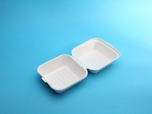 China eco friendly food packaging 6in clamshell on sale