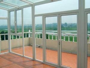 China Aluminium Casement Door on sale