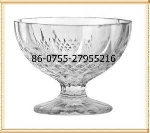 China Glass printing dessert glass on sale