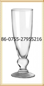 China Glass printing champagne wedding glasses on sale