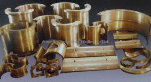 China Bronze&Steel Castings Bronze Sleev Bearing on sale