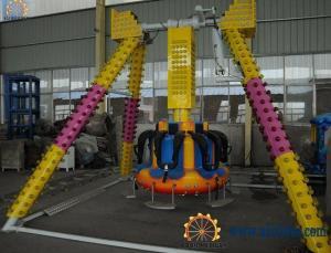 China China amusement rides small pendulum,super fun children game 6 seats mini pendulum on sale