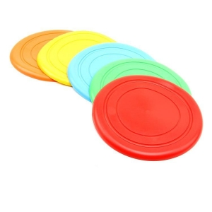 China Non-Toxic Flexible Plastic Dog Frisbee/ Outdoor Dog Toys/Plastic Flyer on sale