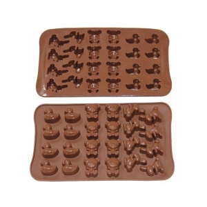 China Chocolate mold Product name: FDA LFGB Silicone candy mould on sale
