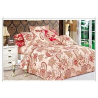 China Delenburg style luxury bedding set 4pc duvet cover bed sheet +cushion covers Chinese supplier on sale