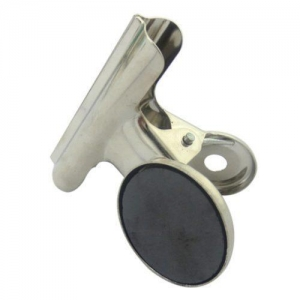 China cheap 31mm sliver metal clip with magentic button on sale