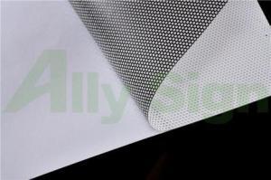 China 150g HP Latex One Way Vision Laminated PE Kraft Paper on sale