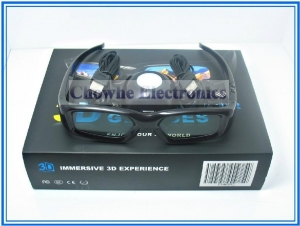 China 3D active shutter glasses 3D Vision Glasses Kit Bundle Box compatible with Geforce Nvidia Video Card on sale