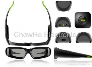 China 3D active shutter glasses 3D Active Shutter TV Glasses for Samsung LG monitor on sale