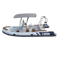 RIB boats, fiberglass hull floor with console, CE-certified, 3 years warranty