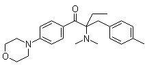 China 2-(4-Methylbenzyl)-2-(dimethylamino)-1-(4-morpholinophenyl)butan-1-one on sale