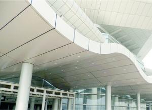 China back Aluminum Corrugated Panel on sale