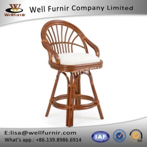 China Well Furnir Rattan Counter Height Stool on sale