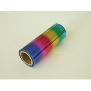 Multi-color textile foil