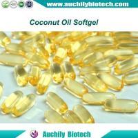 Organic Coconut Oil Softgel Soft Capsule