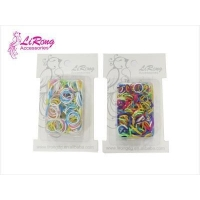 China Candy color seamless interface rubber band on sale