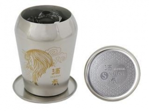 China Titanium Double-Wall Tumbler SELECT with Coaster (Demon Lord - Gold) on sale