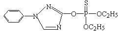 China Triazophos O,O-Diethyl O-(1-phenyl-1H,1,2,4-triazol-3-yl)-thiophosphate on sale