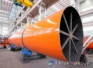 China Coconut Waste Rotary Dryer on sale