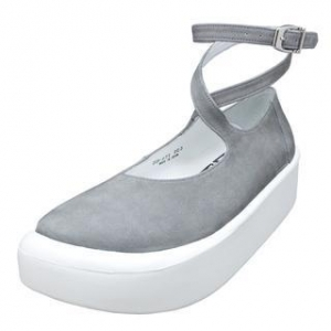 China TOKYO BOPPER No.871 / Gray Nubuck ballerina shoes on sale
