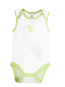 China 100% Cotton Baby Romper Sleeveless Non-additive on sale