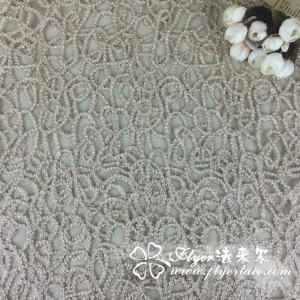 China Elastic Nylon Lace Fabric with Lotus Lca65132 on sale