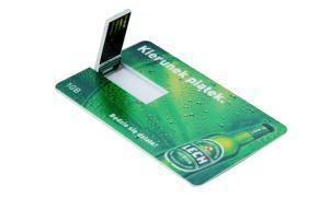 China custom logo usb drives Promotional Customized Logo USB Card on sale