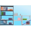 China Rivet shelving for sale