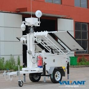 China Mobile Surveillance Trailer VTS600A-C on sale