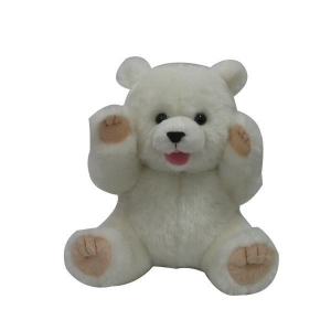 China 7'' mouth and small polar bear Plush Toys on sale